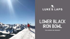 Skiing Lower Black Iron Bowl at Telluride