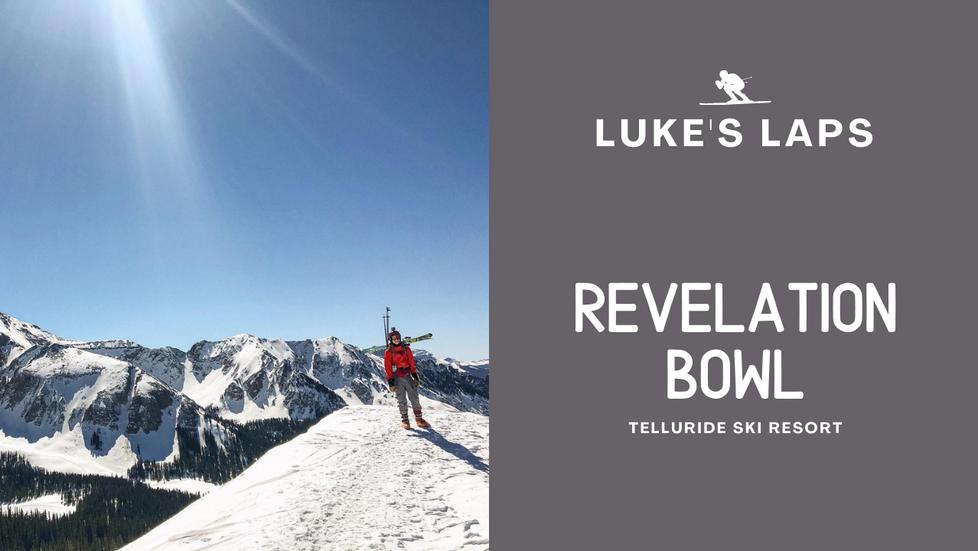 Skiing Revelation Bowl at Telluride