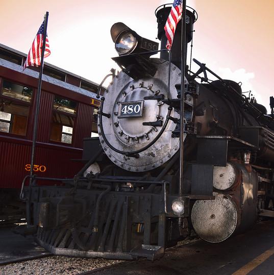 Historic train. PC Russ Ward on Unsplash.