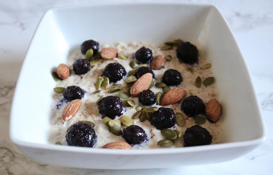 Protein Blueberry Vanilla Oats
