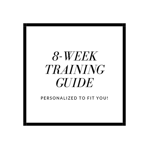 Custom 8-Week Training Guide