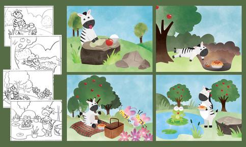 Zebra story 1