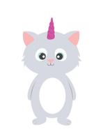 Cat unicorn