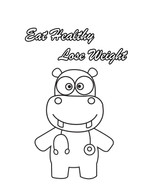 Eat Healthy Lose Weight - Advice from Hippo the Doctor