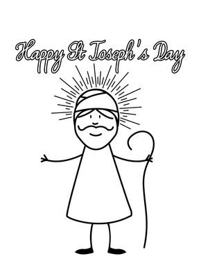 Happy Saint Josephs Day St Joseph Day