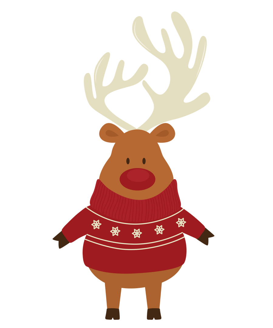 Christmas Reindeer Bear