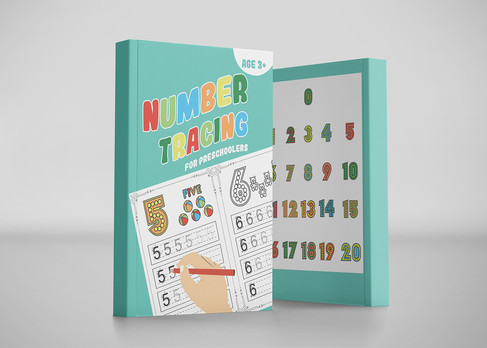 Number tracing Exercise book