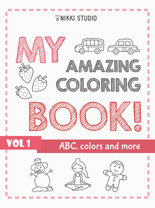 Vol 1 - ABC, colors and more