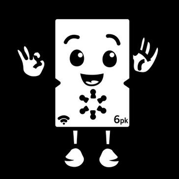Cute battery mascot