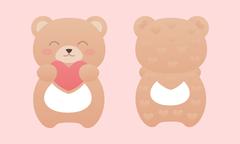 Baby bear kid toy