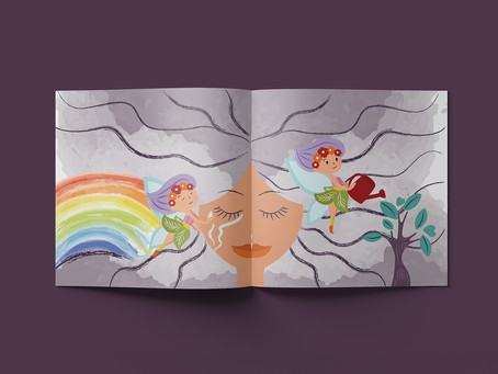 The Extraordinary Fairies: Turning Misfortune Into Blessings - children book illustrations
