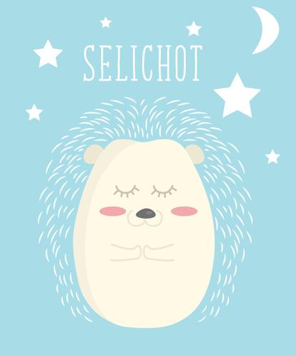 Selichot Hedgehog