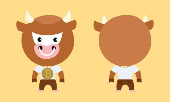 Bitcoin cow