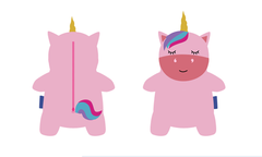 Unicorn bag design