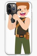 Cute Terminator in iPhone 11 pro max Mockup