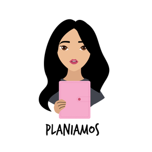 Girl with planner