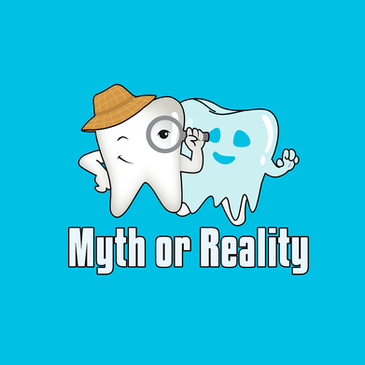Myth or Reality logo design