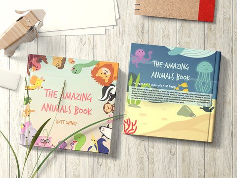 The amazing animals book