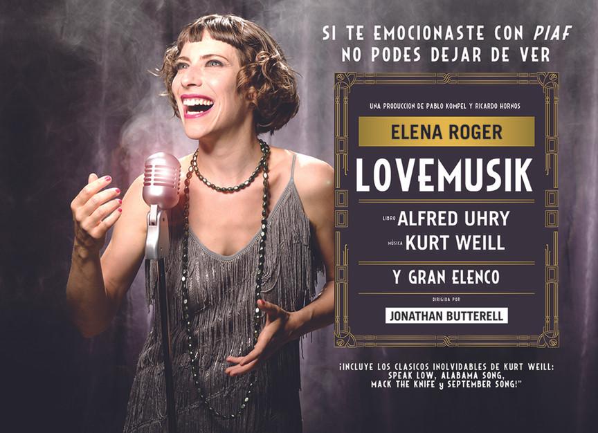 Elena Roger para Lovemusik