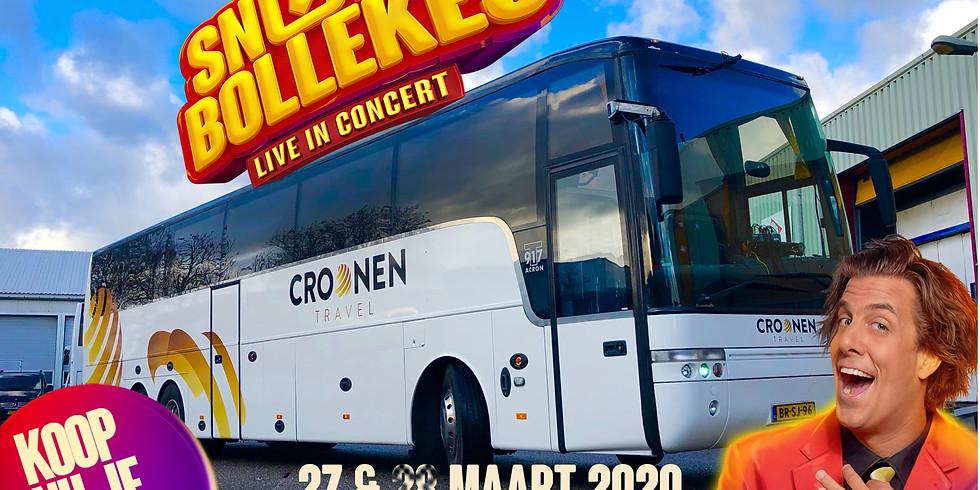 (Partybus)Snollebollekes Live in concert vrijdag 27-03-20