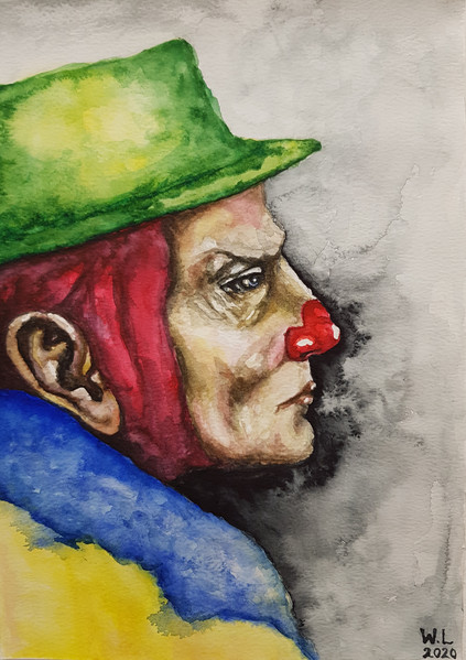 mannen med den gröna hatten