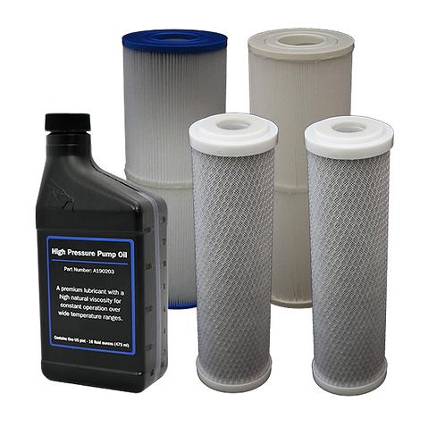 BWDESAL Vedlikeholdssett - Store filtre