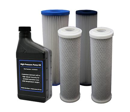 BWDESAL Vedlikeholdssett - Små filtre
