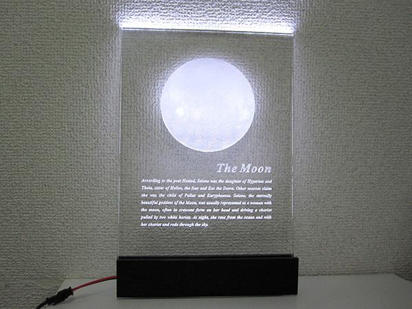アクリル製発光ディスプレイ