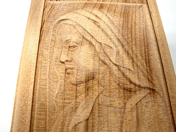 レリーフ彫刻