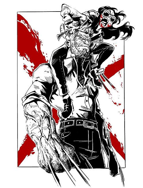 Old Man Logan - Binding Knives