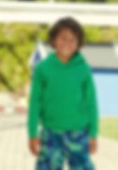 Sweat shirt capuche enfant Gildan