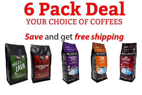1 lb Organic 6 Pack - Your Choice