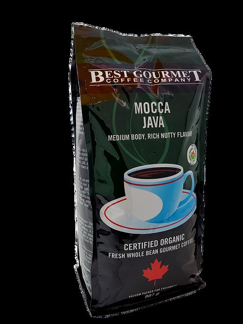 2 lb Organic Mocca Java