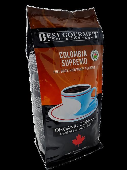2 lb Organic Colombia Supremo