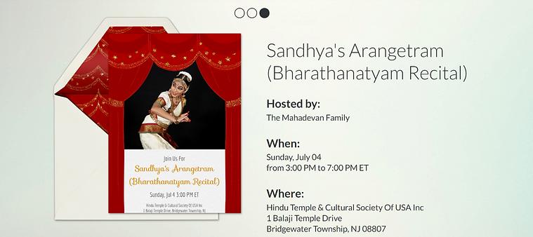 Sandhya Recital Donation.png
