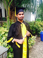 Graduation Day for Kranthi