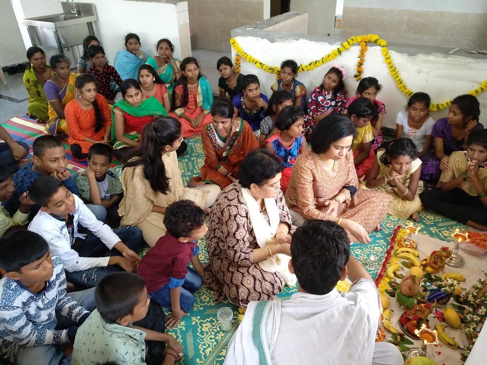 Welcome Pooja with Madhupama