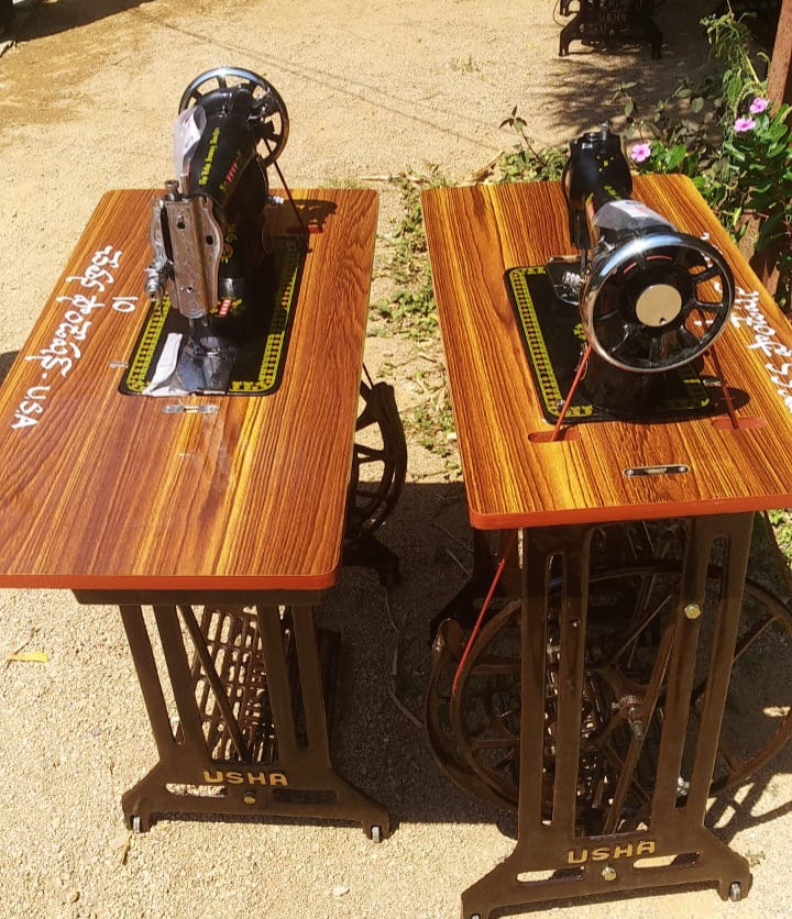 Donated sewing machines