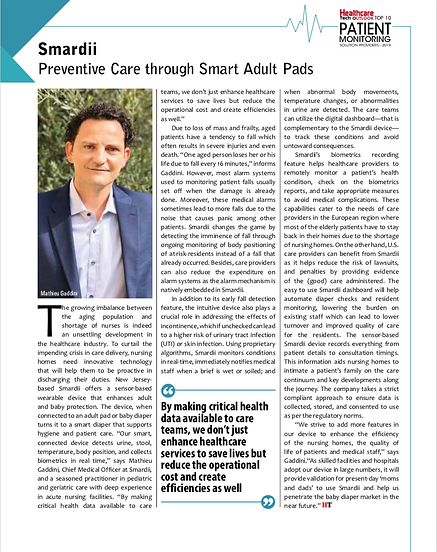 Healthcare Tech Outlook Article Picture.