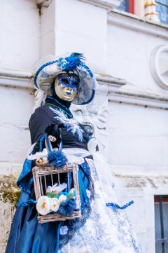 Venetiaanse maskers, Brugge