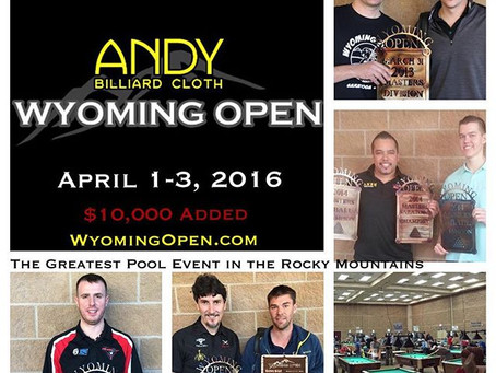Andy Cloth 9thWyomingOpen April 1-3rd