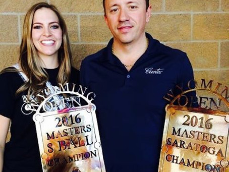 Van Boening Wins 2 MoreAndy Cloth Wyoming Open Titles:Thompson & Pacheco Win First WY Titles