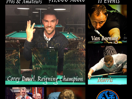 11th Annual Wyoming Open Adds Events, Tables & Extra Day