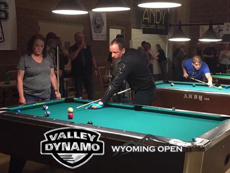 Valley-Dynamo Joins Wyoming Open: Shane Van Boening Again