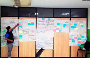 Taller de evaluación y planificación con mentores y técnicos en Esmeraldas