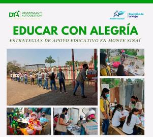 Estrategias de apoyo educativo en Monte Sinaí