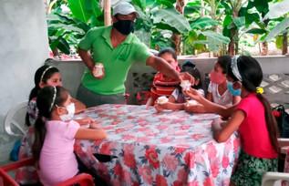 Se entrega colación escolar a niños y niñas del Programa de Horario Extendido