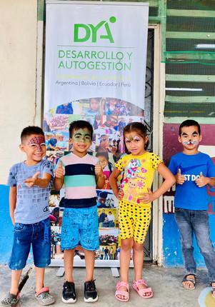 Delegación zonal del Ministerio de Educación visita programa de Horario extendido en Yaguachi