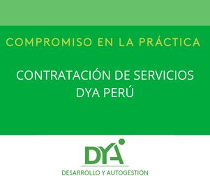 DYA Perú requiere contratar servicios de transporte