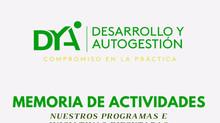 Memoria institucional DYA 2019-2020